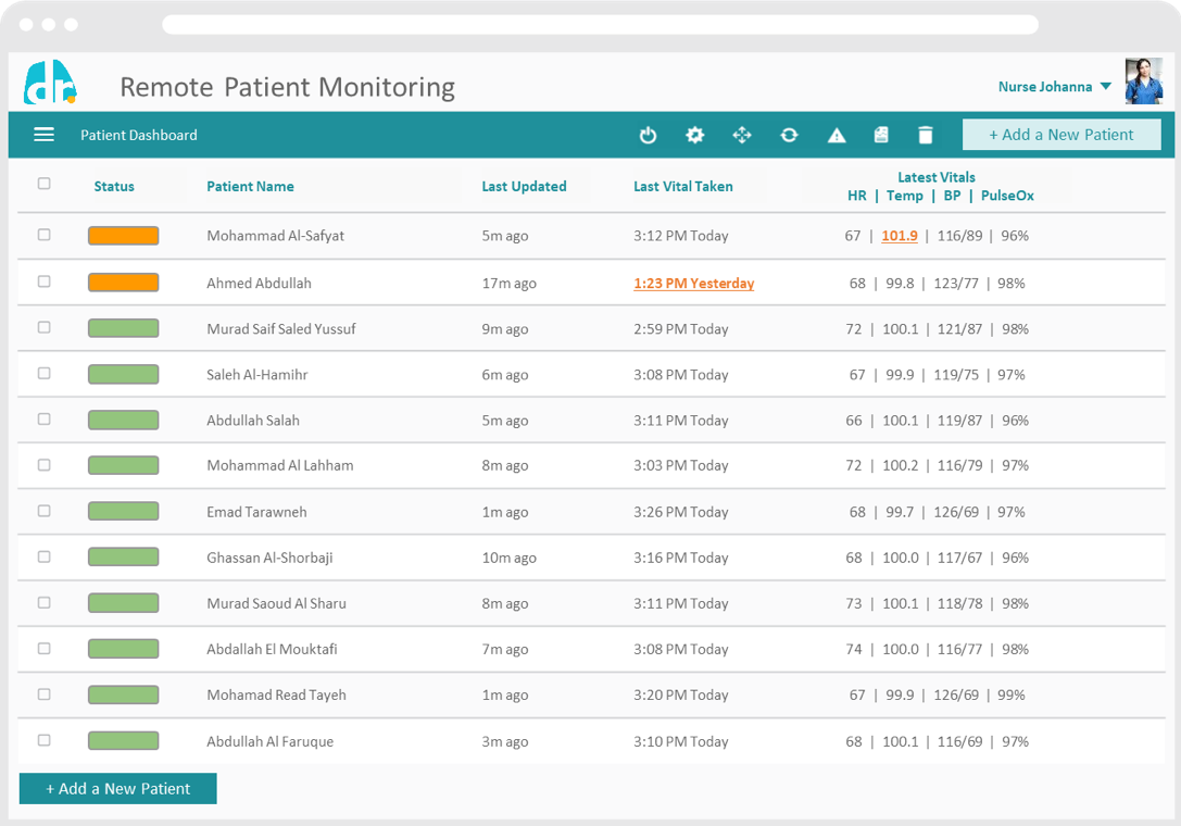 Remote Patient Monitoring Doctory